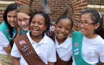 Image result for multicultural girl scouts